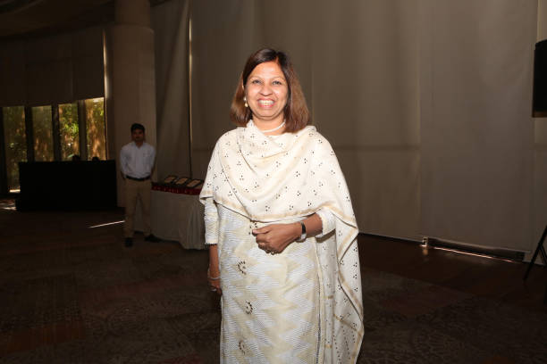 Rekha Palli during the 16th Distinguished OSA Hindu College Alumni Awards 2018 recently organised by The Old Students` Association of Hindu College...
