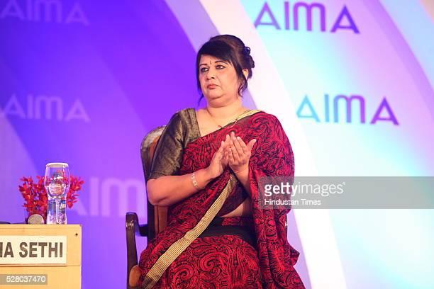 Rekha Sethi during the All India Management Association 's Managing India Awards 2016 at Hotel Taj Palace in New Delhi, India.