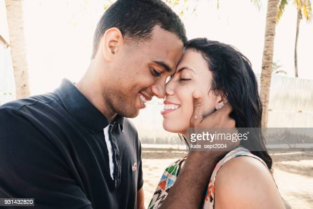 relationship and vacations - dominican republic stock pictures, royalty-free photos & images