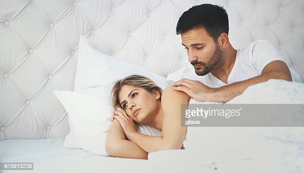 relationship difficulties. - honeymoon stock pictures, royalty-free photos & images