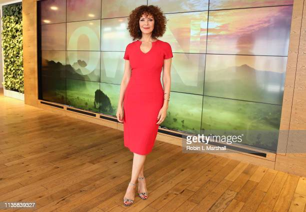 Relationship Expert Tracy McMillan attends QA Luncheon and Advanced Screening of 'Family Or Fiance' at OWN Offices at The Lot on March 14 2019 in...
