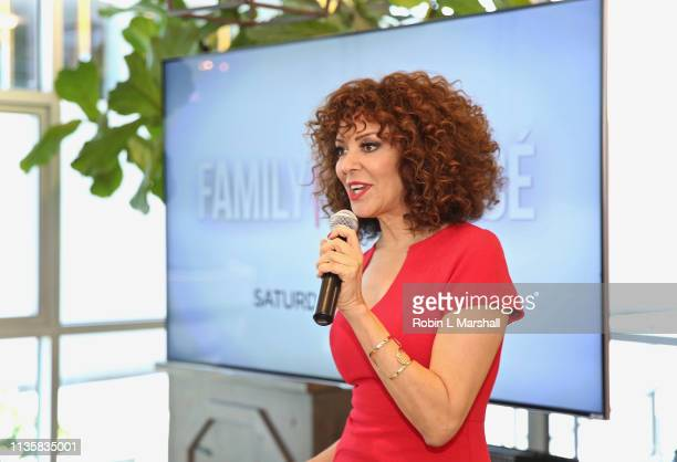 Relationship Expert Tracy McMillan hosts a QA luncheon and advanced screening of 'Family Or Fiance' at OWN Offices at The Lot on March 14 2019 in...