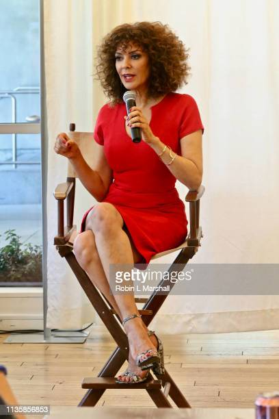 Relationship Expert Tracy McMillan hosts QA Luncheon and Advanced Screening of 'Family or Fiance' at OWN Offices at The Lot on March 14 2019 in West...