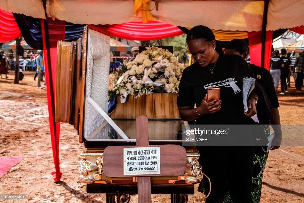 KENYA-ATTACK-BURIAL : News Photo