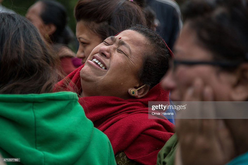 Death Toll Rises Following Powerful Earthquake In Nepal : News Photo