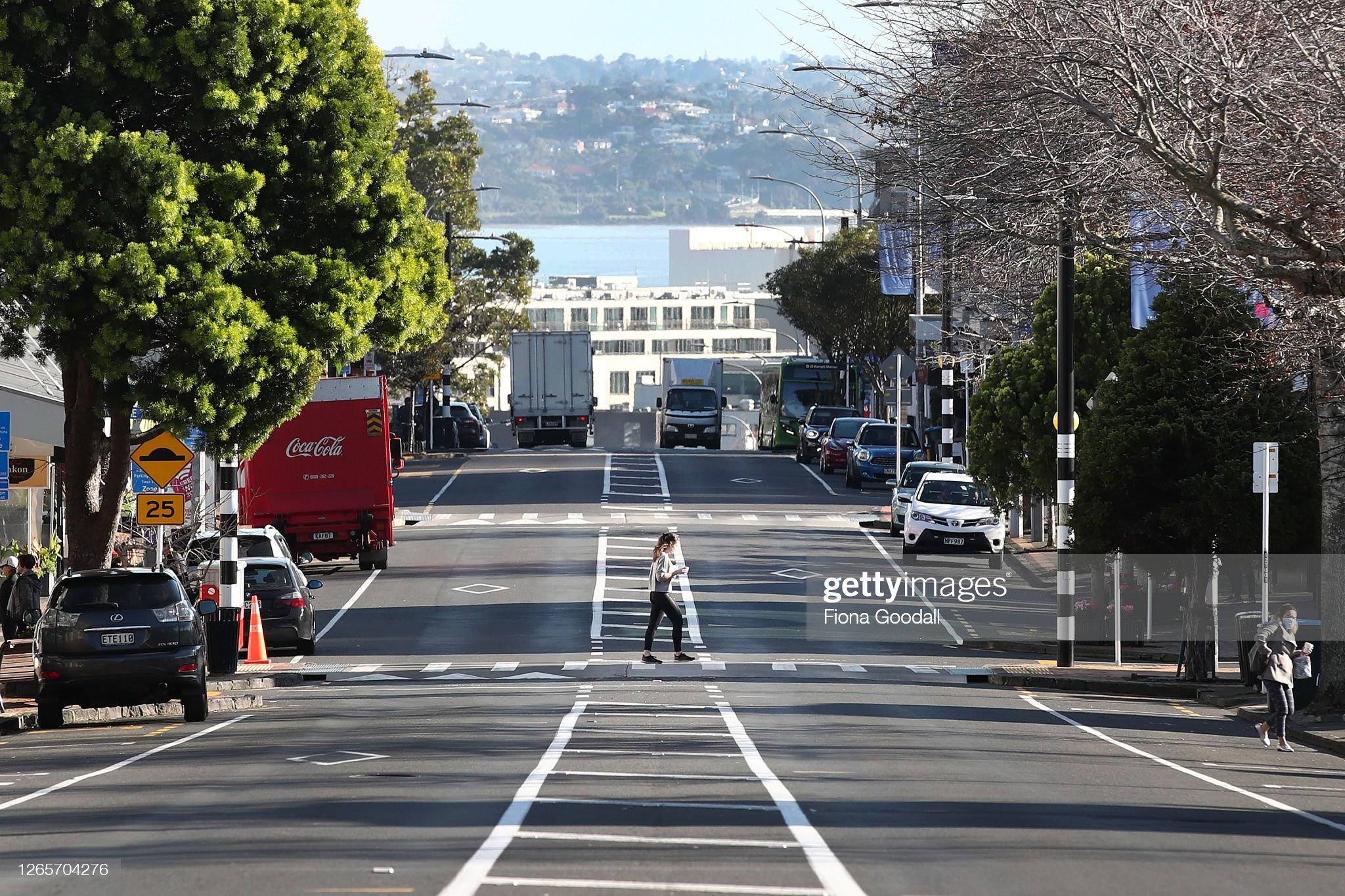 Auckland In Lockdown After New Zealand Records New Coronavirus Cases : News Photo