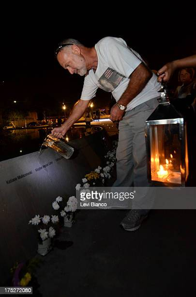 CONTENT] Relatives and friends make honor to victims of flight JJ3054 at the Memorial 17 de Julho in São Paulo Brazil where the aircraft of TAM...