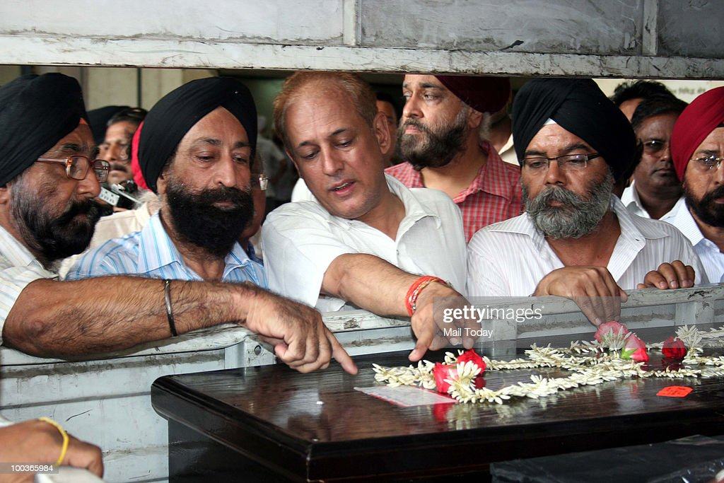 Body Of Capt HS Ahluwalia Arrives in Mumbai