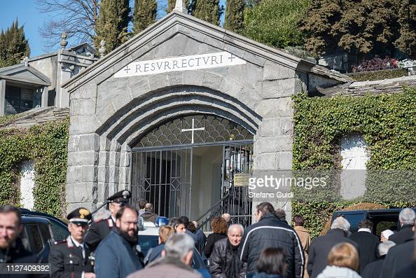 Relatives and friends of the Agnelli family during the ...