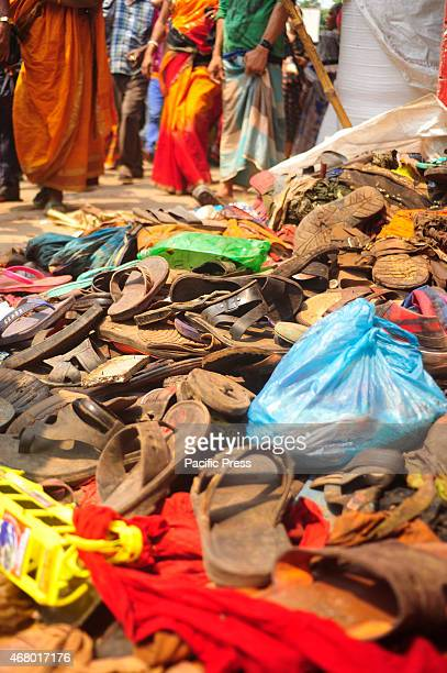 Relatives beside the dead body of a devotee There are at least 10 people dead including seven women in a stampede during the Astami Snan the Hindu...