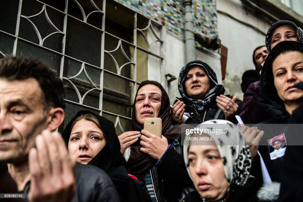TOPSHOT-TURKEY-BLAST : Nachrichtenfoto