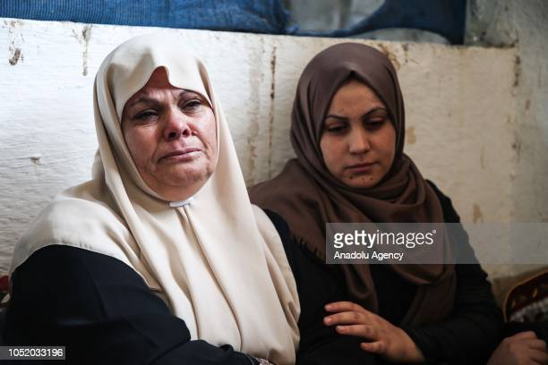 Relatives mourn over the death of Ahmed Ibrahim Zaki alTaweel who was killed after Israeli soldiers intervened in 'Great March of Return'...