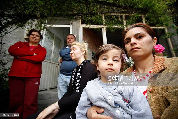 Relatives of miner Serkan Gunes, who lost his life in Soma, mourn in their home in Turkey's western province of Manisa May 17, 2014. Manisa...