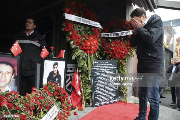 Relatives of terror attack victims who lost their lives after the deadly Daesh attack occurred at Istanbul nightclub Reina in 2017 New Years Eve,...