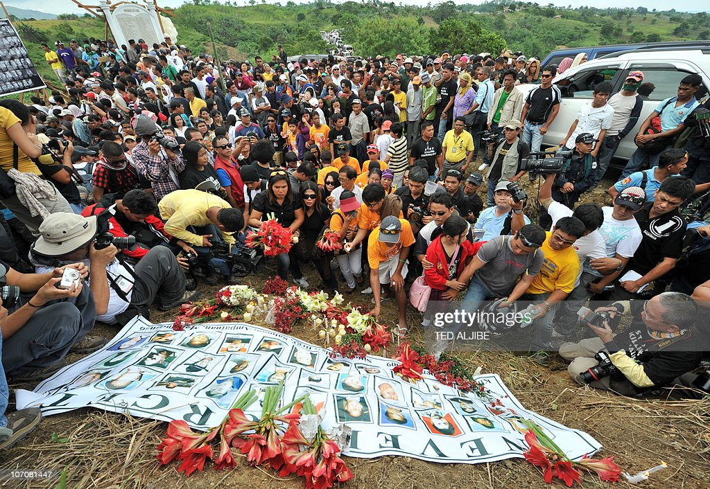 Relatives of the 57 people killed in the : News Photo