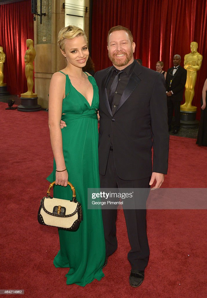 Relativity Media CEO Ryan Kavanaugh (R) and Jessica Roffey attend the 87th Annual Academy Awards at Hollywood & Highland Center on February 22, 2015 in Hollywood, California.