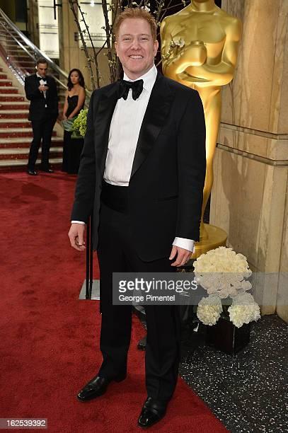 Relativity Media CEO Ryan Kavanaugh arrives at the Oscars at Hollywood Highland Center on February 24 2013 in Hollywood California