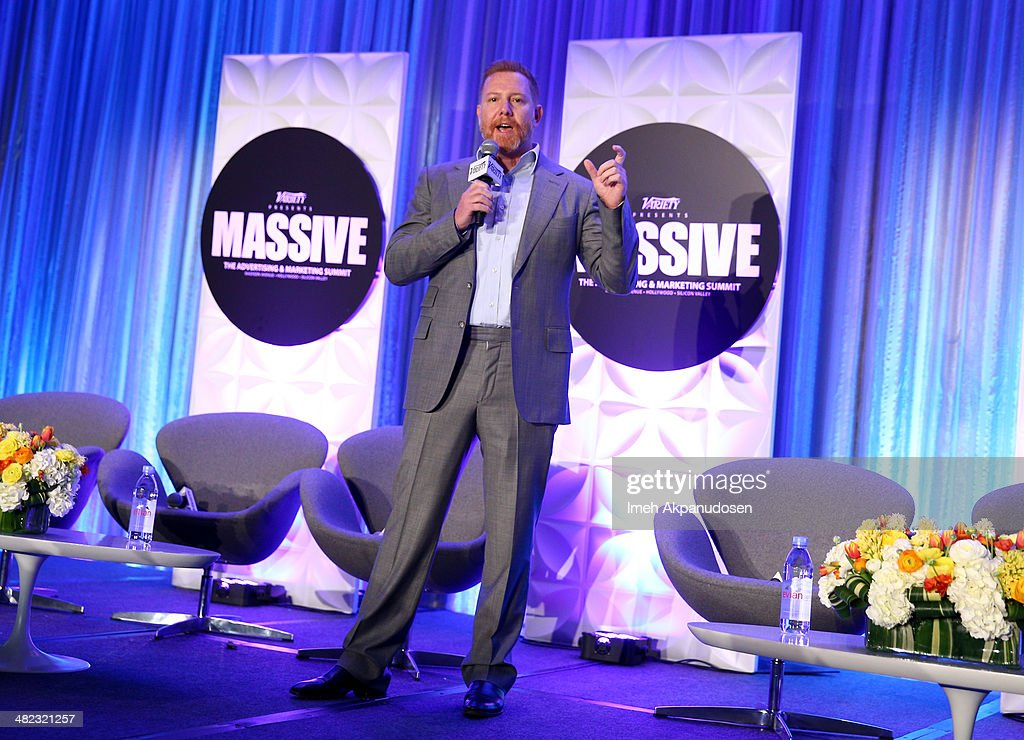 Variety's Massive: The Advertising And Marketing Summit : News Photo