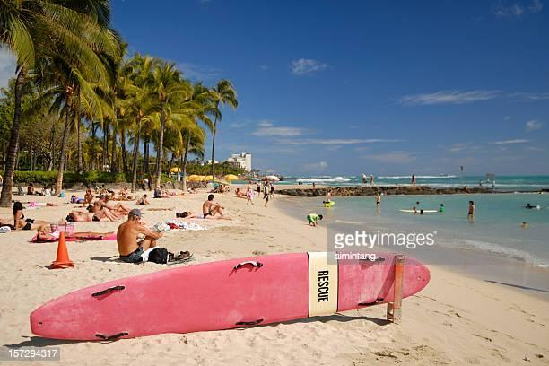Relax at Waikiki Beach