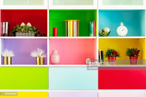 relax decorated corner in living room. interior design background. - multi coloured stock pictures, royalty-free photos & images