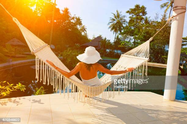 Relax in Beach Hammock