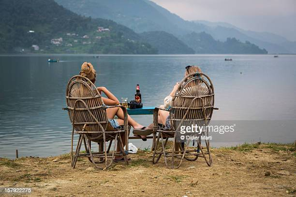 Relax in paradise, Nepal