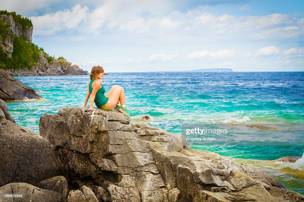 Relax in the lake : Stock Photo