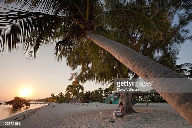 Entspannen Sie sich am Strand, Little Cayman