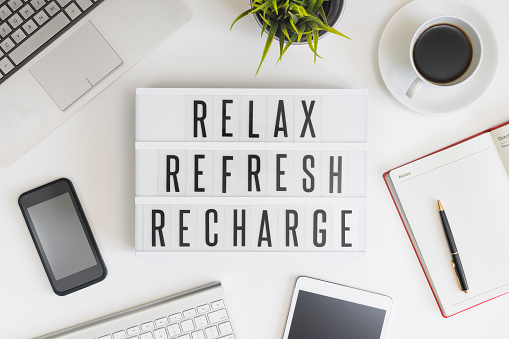 Relax, refresh and recharge in office 509997150