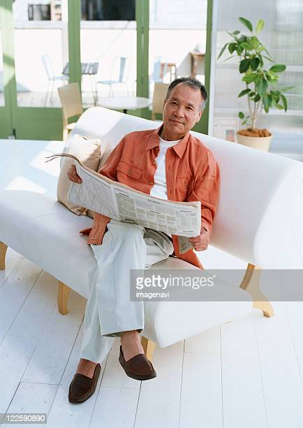 relaxation image - one senior man only stock pictures, royalty-free photos & images