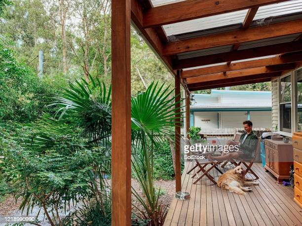relaxed at home - one man only stock pictures, royalty-free photos & images