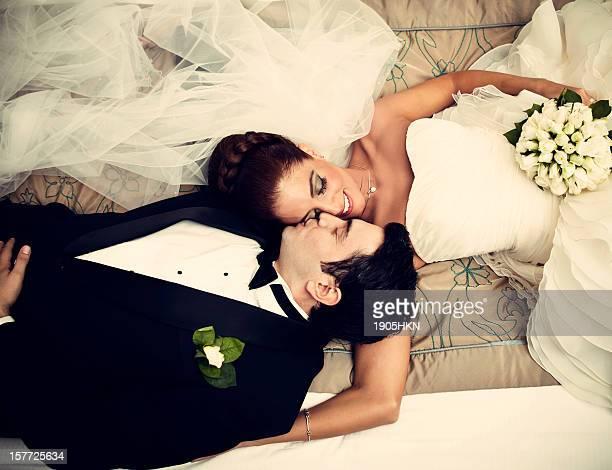 Rilassato sposi