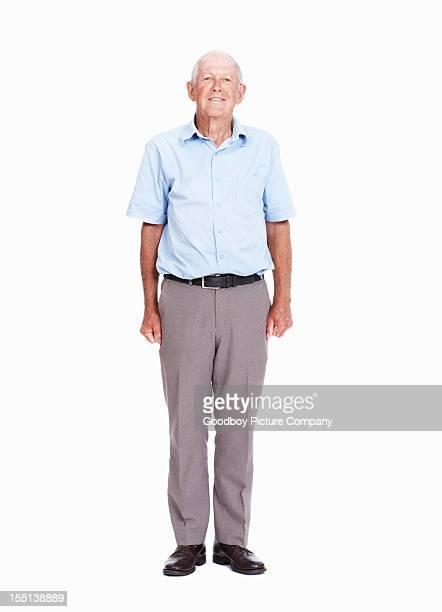 Lässig Älterer Mann