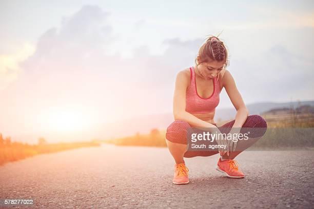 Détendre après la course