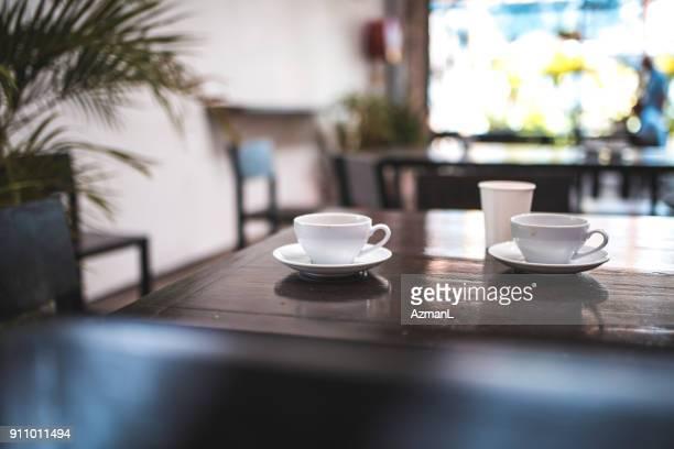 Ontspannen ambient in coffeeshop