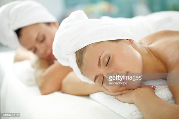 Entspannen Sie sich im beauty spa