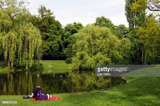 Relaxing at the park in Lodz