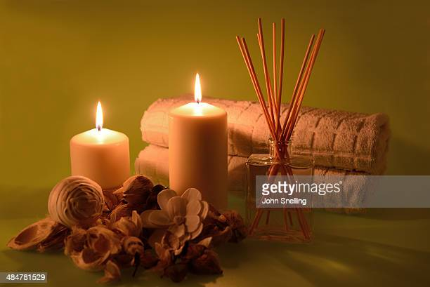 Relaxing candles