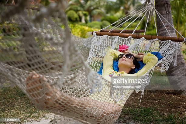 Entspannung in einer Hängematte