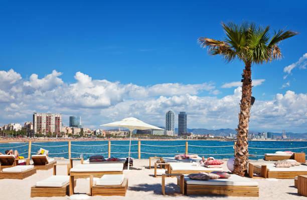 Relaxing in Barcelona