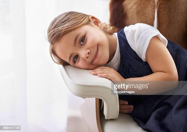 Détendez-vous dans le fauteuil de papa