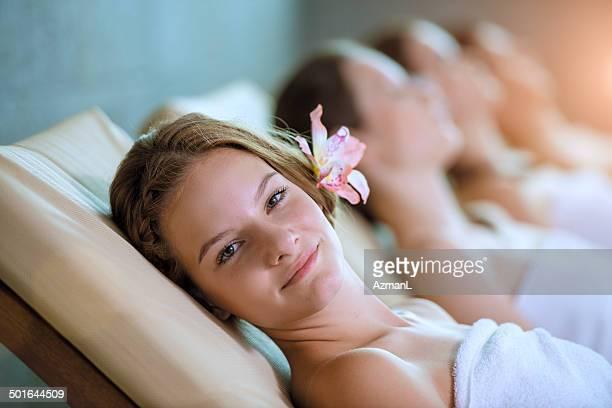 Entspannen Sie im health spa