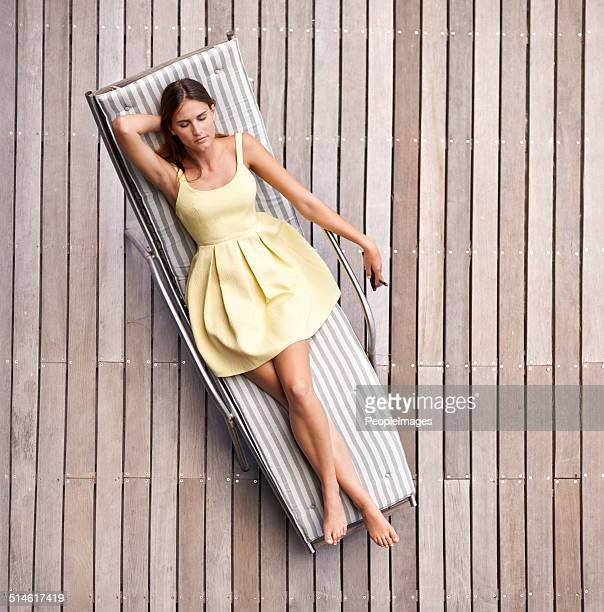 relaxing in style - outdoor chair stock pictures, royalty-free photos & images