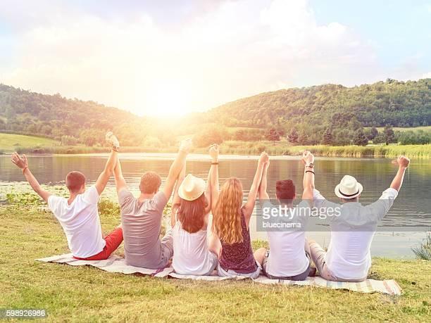 De grands moments de détente avec vos amis