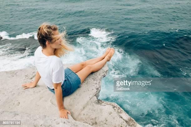 Relaxing on Bondi Beach