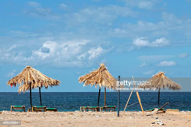 Relaxing on Geropotamos beach, Crete