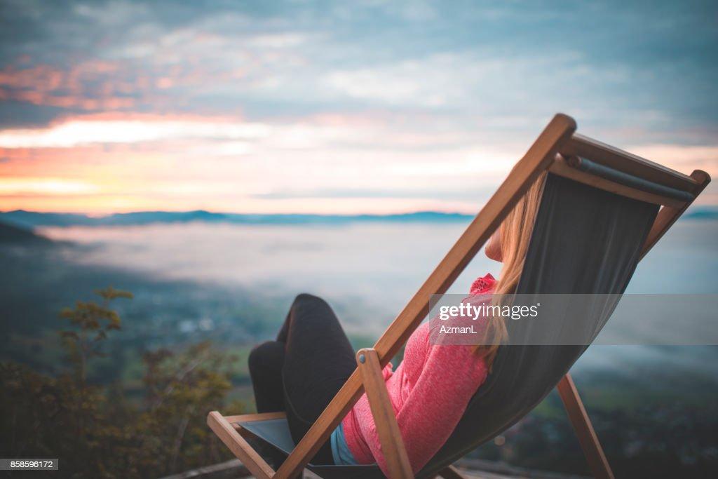 Entspannende : Stock-Foto