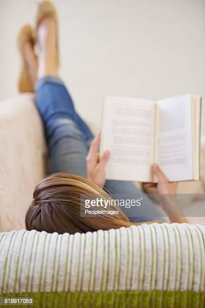 Se détendre avec un bon livre