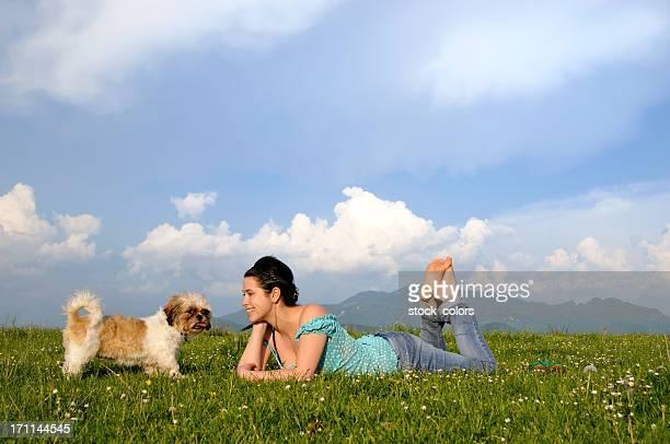 Sich mit Ihrem Hund