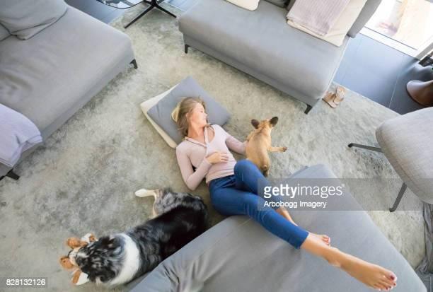 Se détendre avec mes animaux de compagnie
